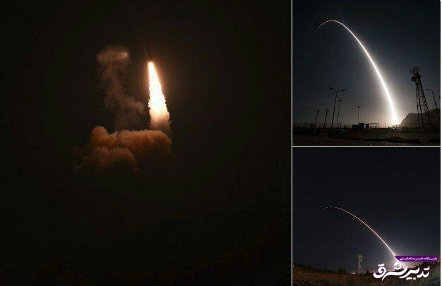 تصویر از قدرتنمایی آمریکا برای کرهشمالی با پرتاب موشک بالستیک