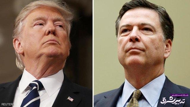 تصویر از ترامپ رئیس اف.بی.آی را اخراج کرد