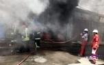 تصویر از آتش سوزی یک مغازه در آبادان، 6 مصدوم بر جای گذاشت
