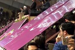 تصویر از فیلم | روحانی: چرا از مسایلی که دولت حل کرده حرفی نمیزنید؟