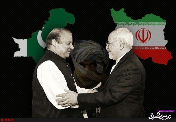 تصویر از همگرایی تهران و اسلامآباد علیه تهدیدهای مشترک