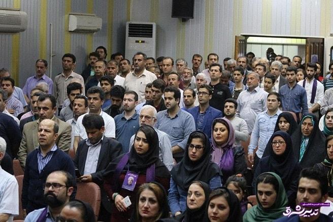 تصویر از گزارش تصویری همایش حامیان دکتر روحانی در لاهیجان