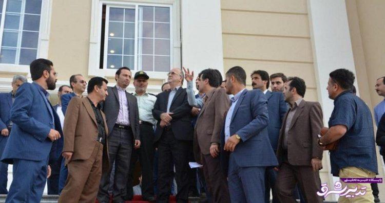 تصویر از گزارش تصویری بازدید استاندار گیلان از پروژههای گردشگری لاهیجان