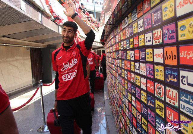 تصویر از بیرانوند، دروازهبان ملیپوش تیم فوتبال پرسپولیس تهران : در پرسپولیس میمانم