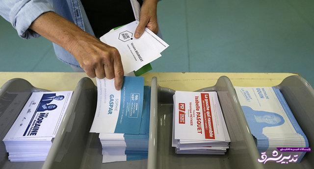 تصویر از پیروزی حزب ماکرون در انتخابات پارلمانی فرانسه