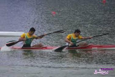 تصویر از دو قایقران گیلانی در مسابقات جهانی حضور یافتند