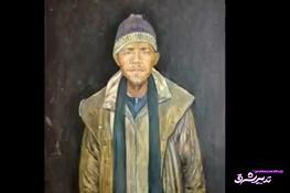 تصویر از فیلم   نقاشی سیاستمداران مشهور جهان در قالب یک پناهجو