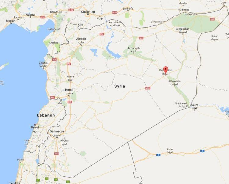تصویر از چرا سپاه «دیرالزور» سوریه را برای حمله موشکی انتخاب کرد؟