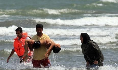 تصویر از کاهش 55 درصدی آمار غرق شدگان در استان گیلان