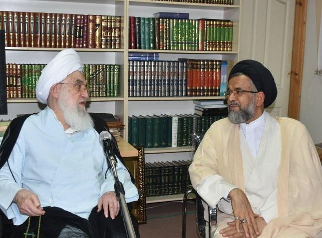 تصویر از دیدار وزیر اطلاعات با نماینده ولی فقیه در گیلان