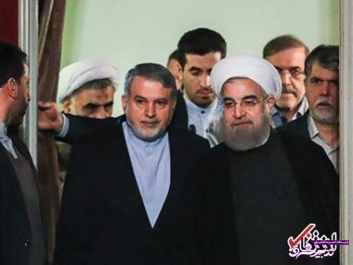 تصویر از رئیس جمهور با وزرایی که قصد ادامه همکاری دارد، جلسه خصوصی داشته / دکتر روحانی با صالحی امیری هم در این رابطه دیدار داشته / عدم برگزاری جلسه با وزرایی که در کابینه بعد نیستند