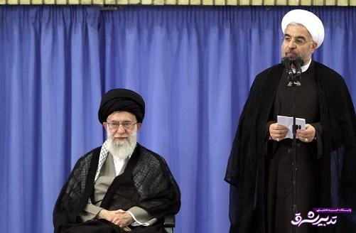 تصویر از روحانی در مراسم تنفیذ حکم ریاست جمهوری خود:  باید به امید مردم توجه کنیم/امیدوارم در کنار زدن پرده ریا و تزویر کوشا باشم