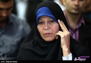 تصویر از فائزه هاشمی:آبروريزي است افغانستان وزير زن دارد ما نداريم/وزرا از پدر مشورت می گرفتند ولي روحانی از ایشان مشورت نمی گرفت