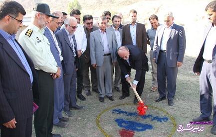 تصویر از عملیات گازرسانی به 13 روستای املش با حضور استاندار گیلان کلید خورد