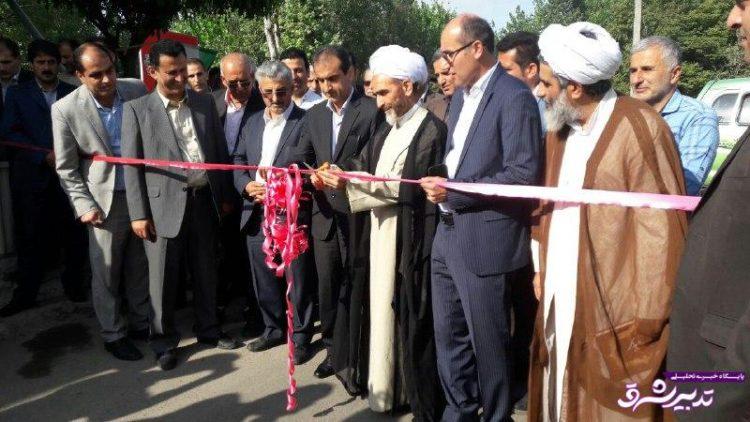 تصویر از گزارش تصویری / افتتاح طرح های عمرانی هفته دولت در بخش رودبنه شهرستان لاهیجان