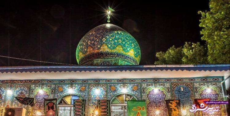 تصویر از همزمان با فرا رسیدن ماه محرم؛ سیاه پوش شدن بقاع متبرکه در لاهیجان به روایت تصویر