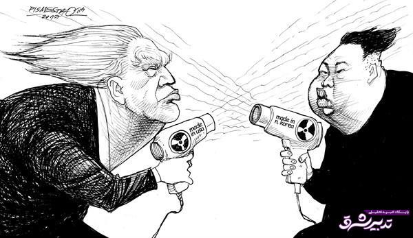 تصویر از همکاری عجیب ترامپ و اون!