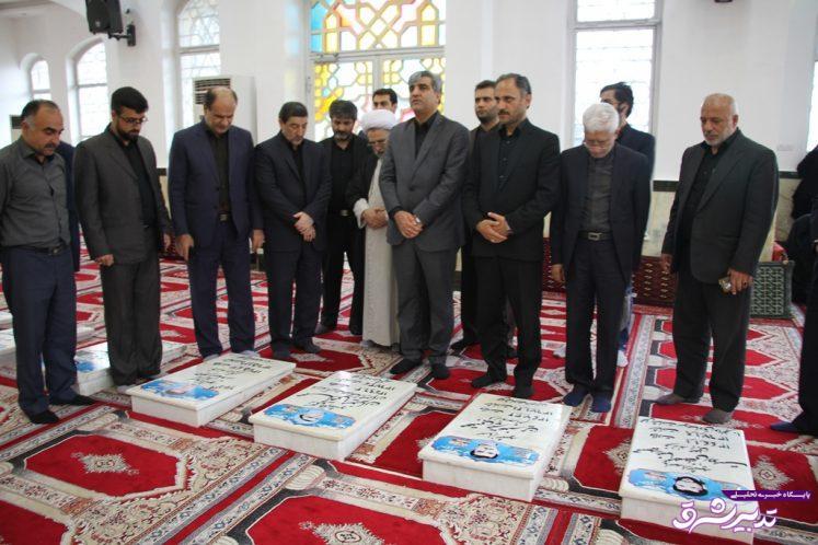 تصویر از گزارش تصویری حضور استاندار گیلان در مراسم عزادارى روز عاشورا در آستانه اشرفیه