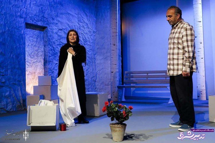 تصویر از شهرام کرمی: نمایشی روی صحنه آوردهایم که شوآف نیست