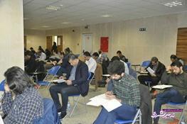 تصویر از علی دایی و جواد خیابانی در کلاس دکترا