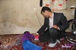 تصویر از کمک 20میلیون ریالی یک خیر برای هزینه دندانپزشکی یک دانش آموز معلول در استان