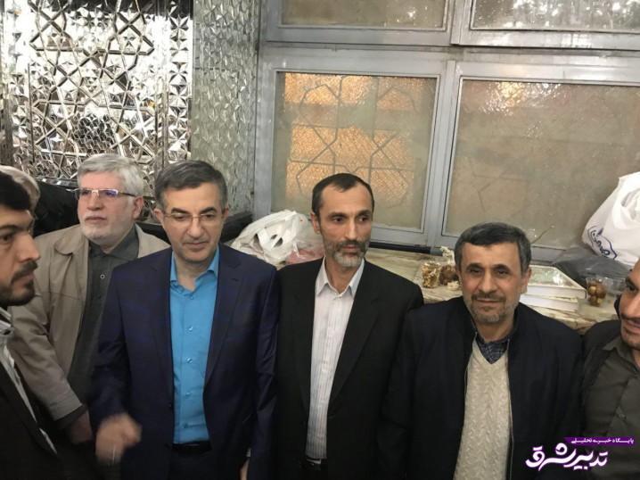 تصویر از پیامدهای تحصن و بستنشینی یاران احمدینژاد در حرم حضرت عبدالعظیم /واعظ آشتیانی؛ به دنبال ساختن دشمن فرضی و مظلوم نمایی هستند