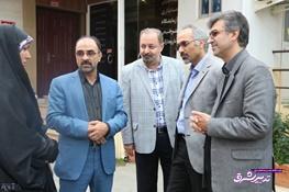 تصویر از رئیس دانشگاه علوم پزشکی مازندران به طور سرزده از مراکز درمانی شهرستان بابلسر بازدید کرد