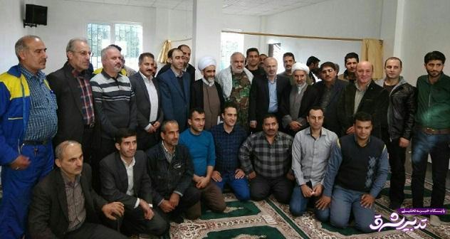 تصویر از برگزاری مراسم گرامیداشت هفته بسیج در اداره گاز شهرستان لاهیجان