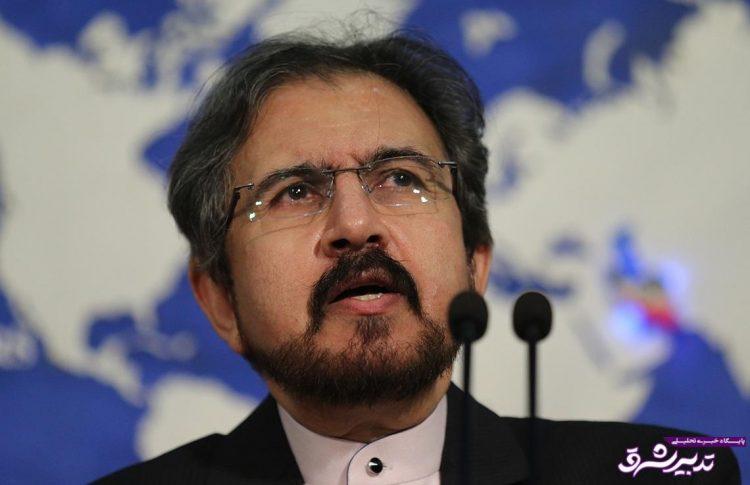 تصویر از سخنگوی وزارت خارجه:صحبت از شروط برای سفر مکرون ، انحرافی است/برجام یک قاضی بیشتر ندارد
