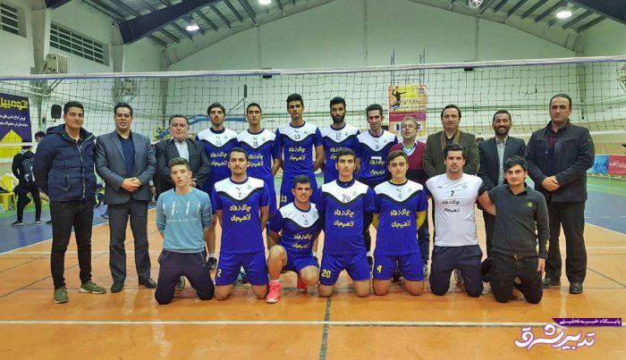 تصویر از در هفته چهارم لیگ والیبال استان گیلان؛ پیروزی مقتدرانه هیات والیبال لاهیجان مقابل تیم میزبان (شهرداری لنگرود)