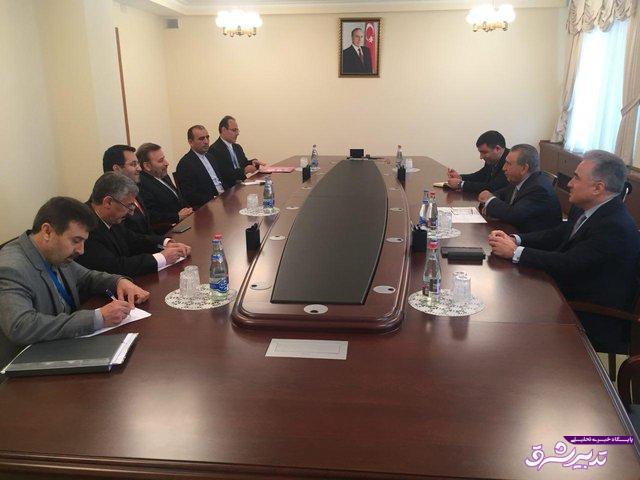 تصویر از رییس دفتر روحانی در دیدار با همتای آذربایجانی:  شاهد پیشرفت در اجرای توافقهای تهران و باکو هستیم