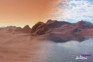 آبهای سطح مریخ