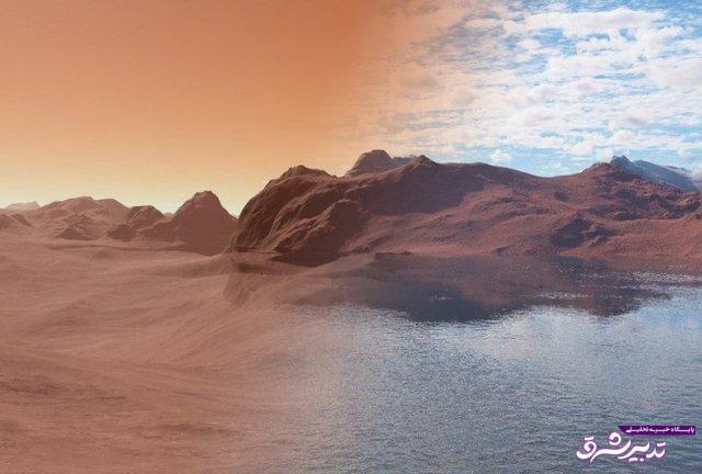 تصویر از آبهای سطح مریخ کجا رفته است!؟