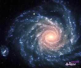 تصویر از عکس خارقالعاده ناسا از شکوه یک کهکشان مارپیچی