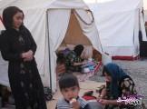 تصویر از فیلم/ ببینید: مردم زلزلهزده کرمانشاه این روزها چگونه زندگی را می گذرانند؟ / تامین آب شرب از استخر یک پارک!