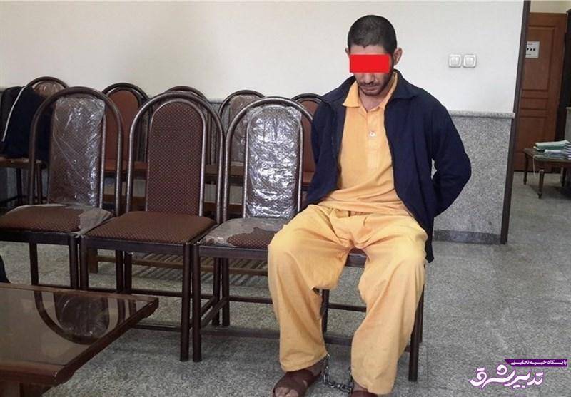 تصویر از پدری که پس از قتل زن و ۲ فرزندش سر اجساد آنها مواد کشید / عکس