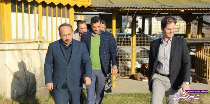 راه اندازی مجدد کارخانه آسفالت شهرداری رشت