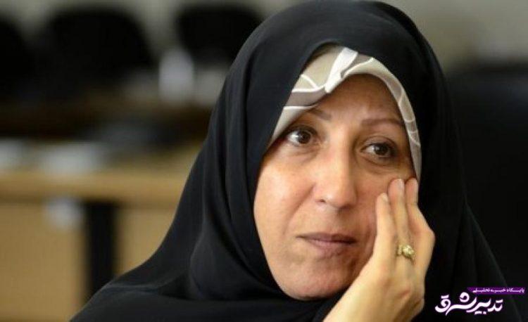 تصویر از فاطمه هاشمی: حولهای که با آن آیتالله هاشمی را به بیمارستان بردند آلوده به رادیواکتیو بود