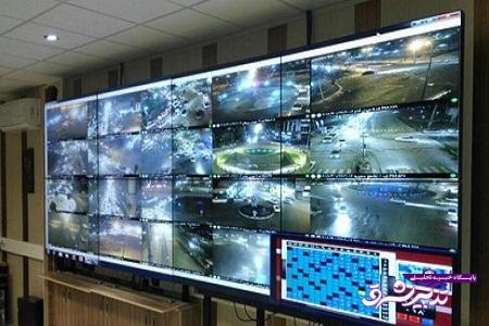 تصویر از بیش از هزار مورد تخلف رانندگی توسط دوربینها در رشت به ثبت رسیده است
