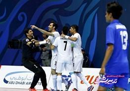 تصویر از ایران دوباره قهرمان فوتسال آسیا شد
