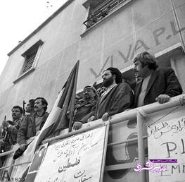 تصویر از تصاویر قدیمی از اولین رهبر جهان عرب که بعد از انقلاب به ایران سفر کرد
