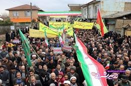 تصویر از فیلم | حضور مردم در راهپیمایی ۲۲ بهمن ۹۶ اینگونه بود