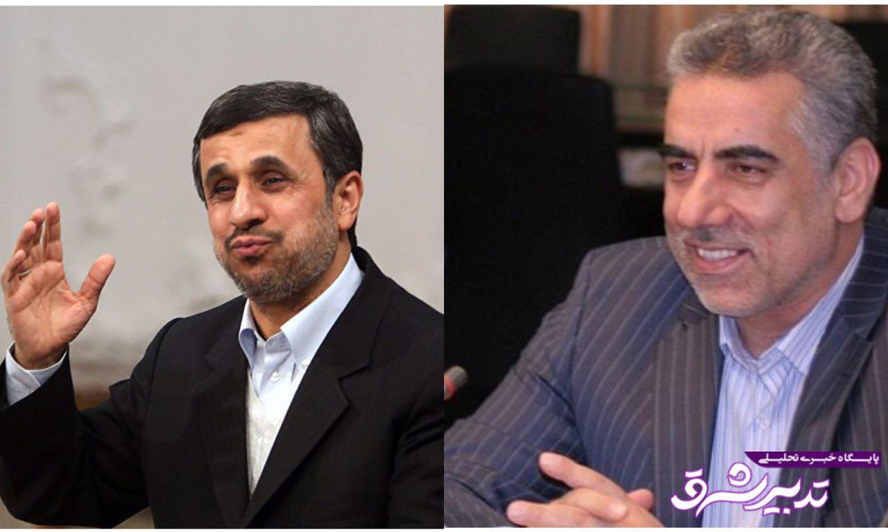 تصویر از این روزها همه از احمدی نژاد تبری می جویند شما چطور آقای عباسی؟