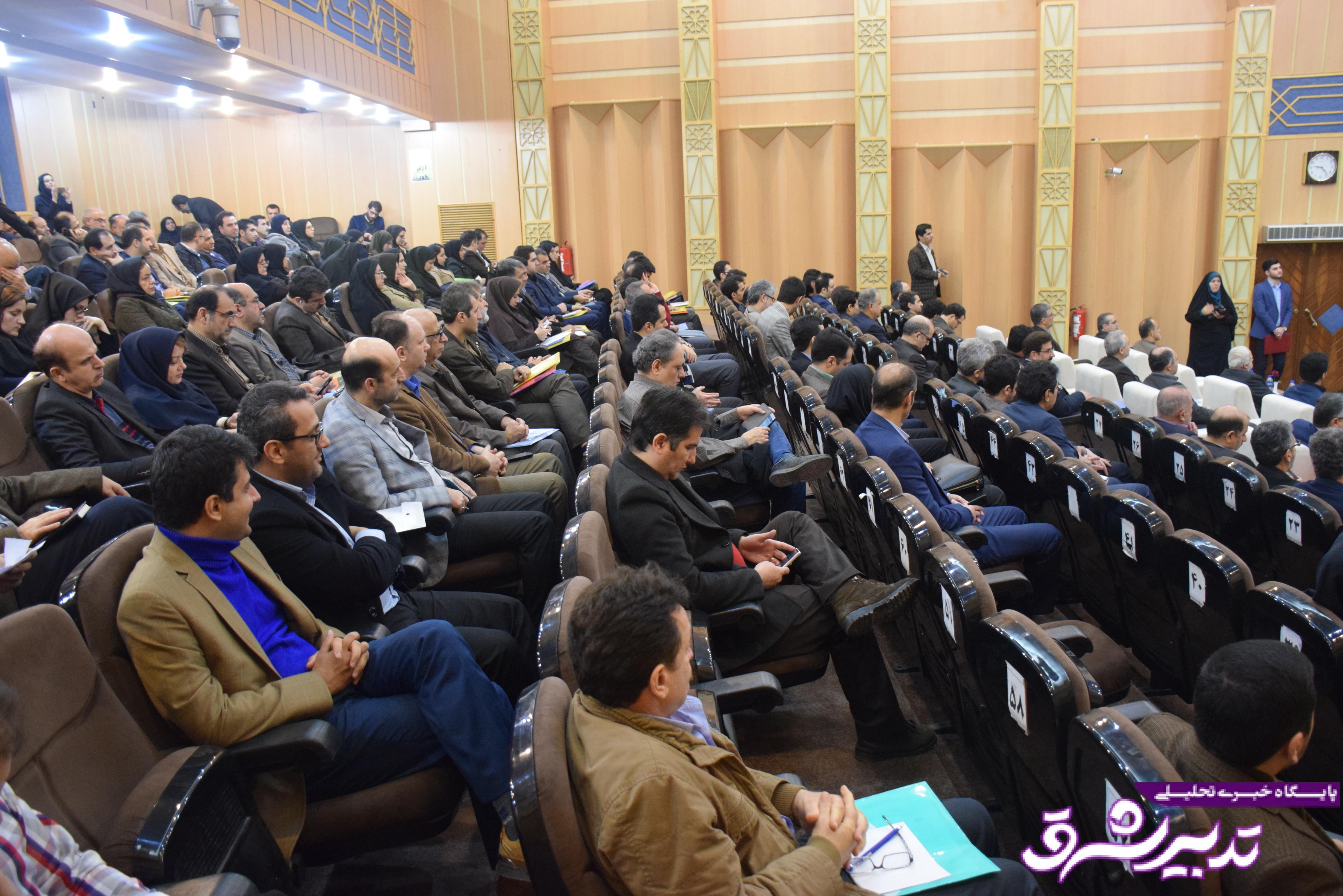 تصویر از گزارش تصویری همایش توجیهی سامانه تدارکات الکترونیکی دولت