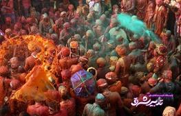 تصویر از تصاویر | استقبال هندیها از بهار با جشنی به نام هولی