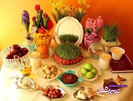 تصویر از نمایشگاه سفره هفتسین در لاهیجان برگزار میشود