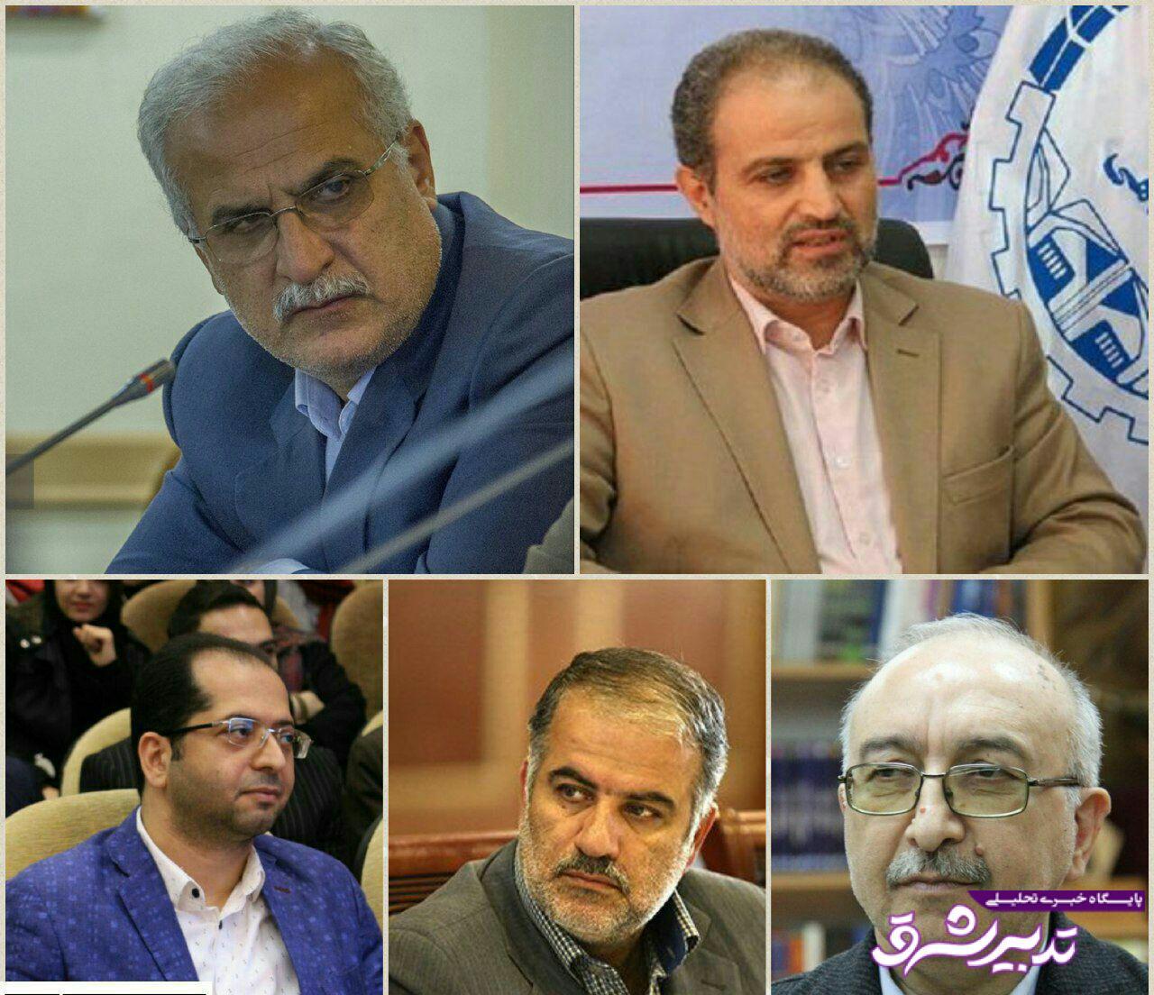 تصویر از همه گزینه های معاونت عمرانی استانداری گیلان؟!