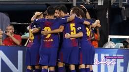 تصویر از آتش بازی بارسلونا مقابل سویا/جام قهرمانی برای اشکهای کاپیتان!