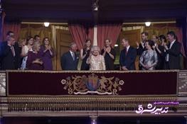 تصویر از تصاویر| ملکه الیزابت ۹۲ ساله شد
