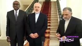 تصویر از فیلم | ارزیابی ظریف از دیدار با رئیسجمهور سنگال